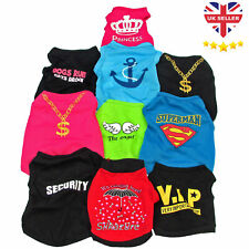Small Pet Dog Cat Shirts VEST Clothes Puppy T- SHIRT COAT Apparel 2300 SOLD
