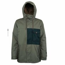 NITRO SHAPERS CHOICE JACKET ARMY EMERALD GIACCA SNOWBOARD FW 2017 NEW L