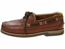 Sperry Top-Sider Mako 2 Eye Coffee Men's Leather Boat Shoe 8.5-13 M
