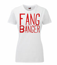 Fang Banger Female HD T-Shirt True Blood Vampire Sookie Bill Horror
