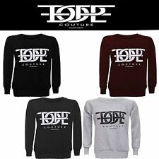 New Ladies Womens Pullover Sweatshirt TOP DOPE Couture MCMLXXXV Print Jumper