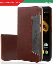 Professional Magnetic PU Leather Flip Wallet Cover For Moto G Plus 4th Gen