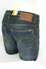 G STAR RAW jeans homme 3301 Low Tapered Dark Aged Used jauni 50779 5166 3144