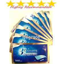 3D PRO TEETH WHITENING STRIPS STRONG, GENUINE & SAFE WITH FREE P&P