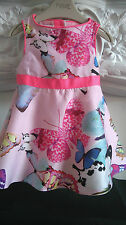 TED BAKER STUNNING BUTTERFYY BABY GIRLS DRESS 0-3 MONTHS IMMACULATE