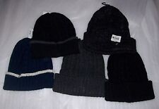 MENS STAFFORD ONE SIZE WINTER BEANIE HATS MULTIPLE COLORS NEW NEVER WORN MSRP$18