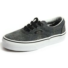 B0102 sneakers bimbo bimba VANS ERA tela scarpe shoes kids unisex