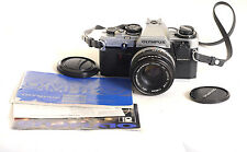 Olympus OM10 Camera 35mm SLR  +50mm f1.8 Lens + Manual Adapter (6932)