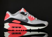 "Nike Air Max 90 Premium Tape OG QS ""Infrared"" White/White-Black-Infrared uk11"