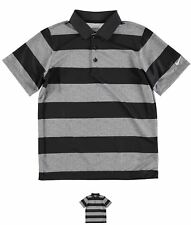 MODA Nike Bold Stripe Golf Polo Junior Boys Black