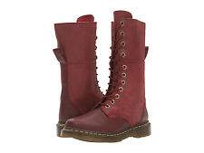 Dr Martens Ladies Hazil Red Mid Calf Boot 20346600 ( Triumph ) RRP £130