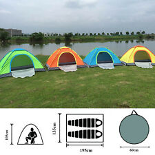 2 Man Two Person Berth Pop Up Beach Camping Fishing Dome Tent Quick Fast Pitch