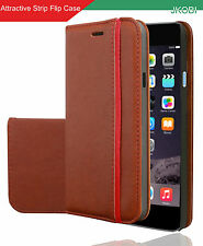 Professional Magnetic PU Leather Flip Cover For Apple iPhone 6s Plus / 6 Plus