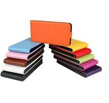 Genuine Real Leather Magnetic Vertical Flip Phone Case Cover For HTC One Max T6