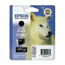GENUINE EPSON HUSKY SERIES PHOTO BLACK INK CARTRIDGE T0961 (C13T09614010)