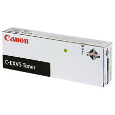 GENUINE CANON C-EXV5 / 6836A002AA BLACK LASER PRINTER TONER CARTRIDGE TWIN PACK