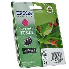 GENUINE EPSON FROG SERIES MAGENTA PRINTER INK CARTRIDGE T0543 (C13T05434010)