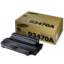 GENUINE SAMSUNG ML-D3470A (D3470A) BLACK MONO LASER PRINTER TONER CARTRIDGE