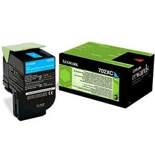 GENUINE LEXMARK 70C2XC0 CYAN EXTRA HIGH CAPACITY RETURN PROGRAM TONER CARTRIDGE