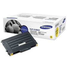 GENUINE SAMSUNG CLP-510D5Y (510D5Y) YELLOW LASER PRINTER TONER CARTRIDGE
