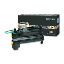 LEXMARK X792X1YG YELLOW EXTRA HIGH CAPACITY RETURN PROGRAM LASER TONER CARTRIDGE