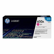 GENUINE HP HEWLETT PACKARD CE273A / 650A MAGENTA LASER PRINTER TONER CARTRIDGE