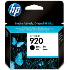 GENUINE OEM HP HEWLETT PACKARD OFFICEJET BLACK INK CARTRIDGE HP 920 (CD971AE)