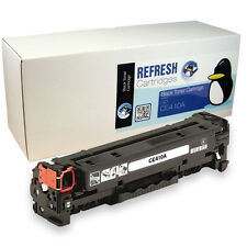 REFRESH CARTRIDGES BLACK CE410A / 305A TONER COMPATIBLE WITH HP PRINTERS
