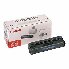 GENUINE CANON 1550A003AA / EP-22 BLACK LASER PRINTER TONER CARTRIDGE