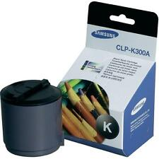 GENUINE SAMSUNG CLP-K300A ORIGINAL BLACK LASER PRINTER TONER CARTRIDGE