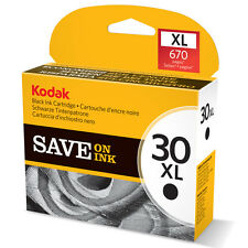 GENUINE KODAK 30XL (30B) HIGH CAPACITY BLACK PRINTER INK CARTRIDGE