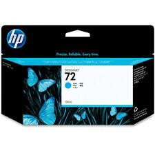 GENUINE OEM HP DESIGNJET HIGH CAPACITY CYAN INK CARTRIDGE - HP 72 / C9371A