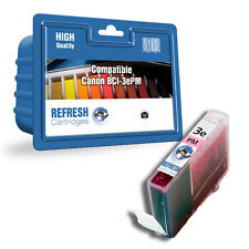 REFRESH CARTRIDGES PHOTO MAGENTA BCI-3EPM INK COMPATIBLE WITH CANON PRINTERS