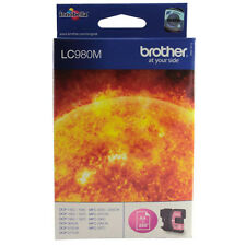 GENUINE OEM BROTHER MAGENTA PRINTER CARTRIDGE LC980 / LC980M - 260 PAGE YIELD