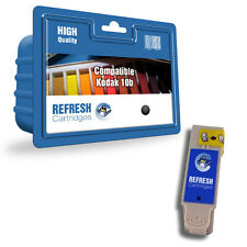 REFRESH CARTRIDGES BLACK 10B INK COMPATIBLE WITH KODAK PRINTERS