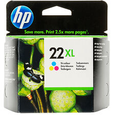 HP HEWLETT PACKARD HIGH CAPACITY COLOUR INK CARTRIDGE HP 22 XL (C9352CE)