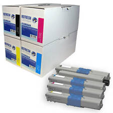 REMANUFACTURED OKI 44315305 LASER PRINTER TONER CARTRIDGES SINGLE OR MULTI PACK