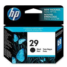 GENUINE HP HEWLETT PACKARD BLACK PRINTER INK CARTRIDGE HP29, 51629, 51629AE