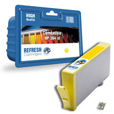 COMPATIBLE HP 364XL YELLOW INK CARTRIDGE UN-CHIPPED WITH CHIP EXTENDER