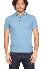 Polo Manga Corta Suéter De Hombre Hombres Fred Perry Made in Italy 0996 azul