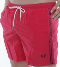 Boxer Mer Fred Perry Costme Short Man Homme 0967 rose verni