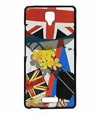 Exclusive Designed Rubberised Back Case Cover For Gionee Pioneer P4 -British