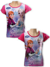 Girls Frozen Short Sleeve T Shirt Age 4 Years to 9 Years (961725)