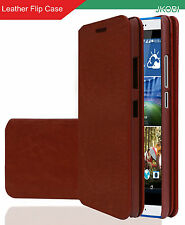 PU Leather Magnetic Closure Wallet Flap Flip Case Cover For HTC One E9s