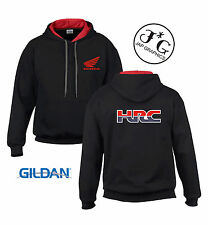 Honda HRC motorbike motorcycle hoodie hooded top jacket all sizes