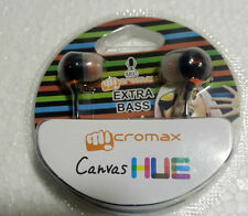 MICROMAX CANVAS HUE STEREO EXTRA BASS HEADSET EARPHONE WITH MIC 3.5 MM JACK