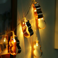 Battery Operated LED Wooden/Metal Various Shape Fairy String Lights Home Decor