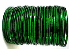 Green Metal Bangles Party Wear Indian Fashion Bangles Traditional Jewelry- 36pcs