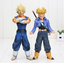 DRAGON BALL Z - TRUNKS VEGETTO SUPER SAIYAN FIGURA Grande 25 cm.