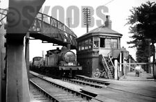 PHOTO BR British Railways Steam Locomotive 69093 at Hull, Anlaby Road Crossing